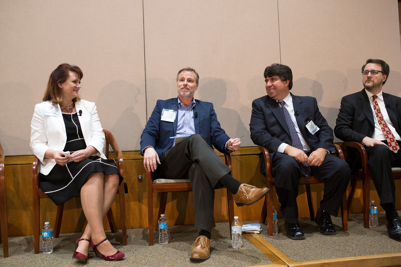The Genomics Panel during the Health Care Informatics & Analytics Conference.